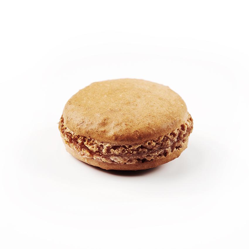 Macaron à l'ancienne, parfum Framboise, de fabrication artisanale