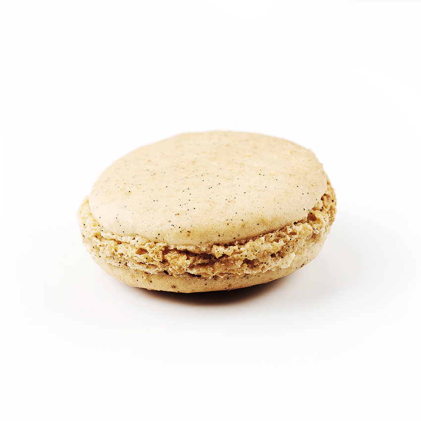 Macaron à l'ancienne, parfum Vanille, de fabrication artisanale